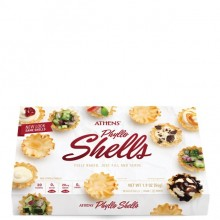 ATHENS MINI PHYLLO SHELLS 15ct 1.9oz