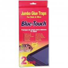 BLUE TOUCH MOUSE TRAPS JUMBO 2s
