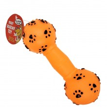 BOW-WOW VALUE DOG TOY NEWS DUMBELL 1ct