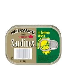 BRUNSWICK SARDINE LEMON SCE 106g