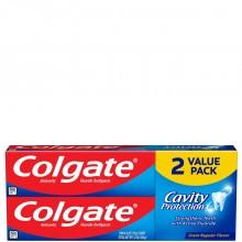 COLGATE T/PASTE CAVITY PROT VAL PK 2x6oz