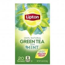 LIPTON TEA GREEN MINT 20s