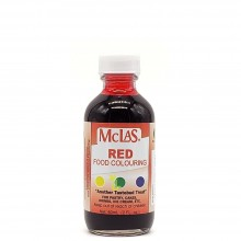 MCLAS FOOD COLOURING RED 60ml