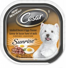 CESAR SMOKED BACON & EGG 100g