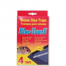 BLUE TOUCH MOUSE TRAPS MED 4s