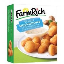 FARM RICH BREADED MUSHROOMS 18oz