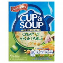 BATCHELORS CUP A SOUP VEGETABLE 122g