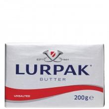 LURPAK BUTTER UNSALTED 200g