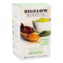 BIGELOW TEA BENEFITS REFRESH 18s