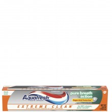 AQUAFRESH T/PASTE E/C PURE BREATH 5.6oz