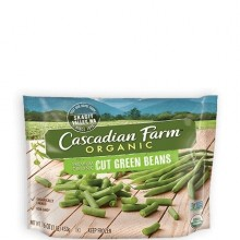CASCADIAN FARM ORG CUT GREEN BEANS 454g