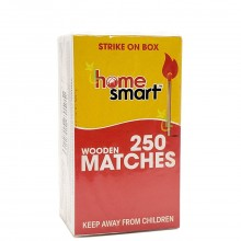 HOME SMART WOODEN MATCHES 2x250s