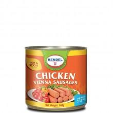 KENDEL VIENNA SAUSAGE CHICKEN SPICY 140g