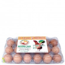 NATIONAL EGGS GRADE A 18s