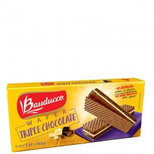 BAUDUCCO WAFERS TRIPLE CHOCOLATE 5.82oz