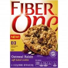 FIBER ONE S/BAKE COOKIE O/MEAL RAIS 187g