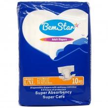 BEM STAR ADULT DIAPER L/XL 10s