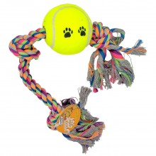 BOW-WOW VALUE DOG TOY ROPE CHEWS 1ct