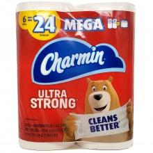 CHARMIN ULTRA STRONG MEGA 6pk