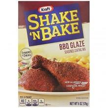 KRAFT SHAKE N BAKE BBQ GLAZE 6oz