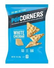 POPCORNERS WHITE CHEDDAR 1oz