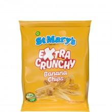 ST MARYS BANANA CHIPS EX CRUNCHY 30g