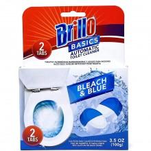 BRILLO TOILET CLEANER BLUE & BLEACH 100g