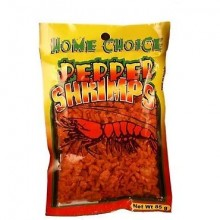 HOME CHOICE SHRIMPS PEPPERED 85g
