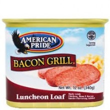 AMERICAN PRIDE BACON L/LOAF 12oz