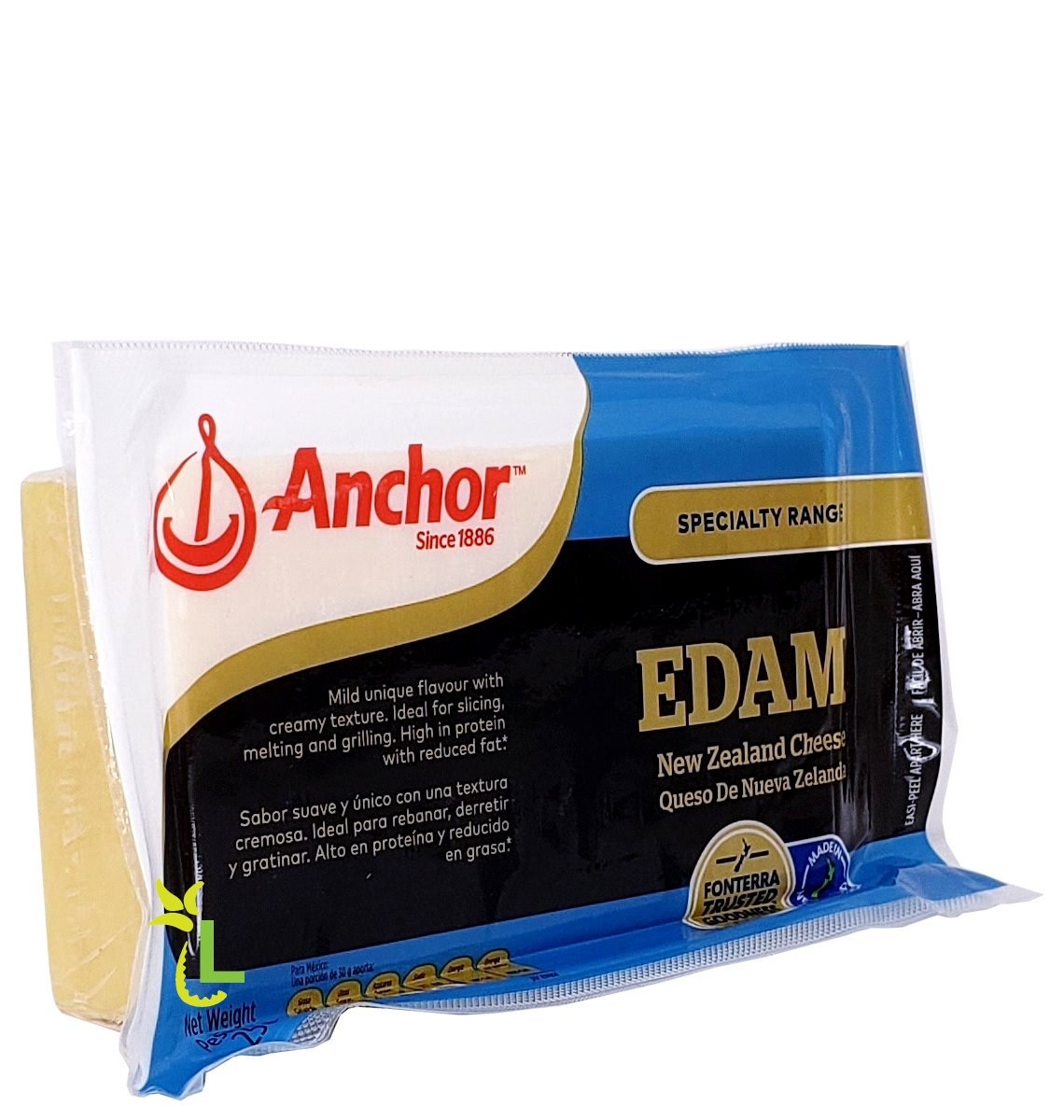 Anchor Edam Cheese 500g Loshusan Supermarket Anchor Dairy Jamaica