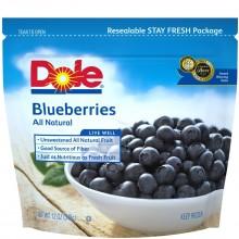 DOLE BLUEBERRIES 12oz