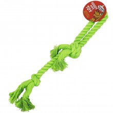 BOW-WOW VALUE DOG ROPE CHEW 3 KNOT 1ct