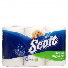 SCOTT BATH TISSUE JUMBO 6pk