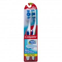 COLGATE T/BRUSH 360 DEGREE VALUE PK 1ct
