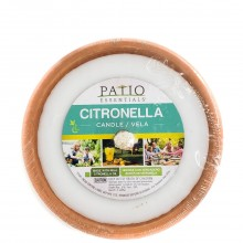 PATIO ESSENTIALS CITRON CANDLE PLATE