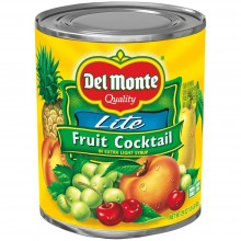DEL MONTE FRUIT COCKTAIL LITE SYRUP 29oz