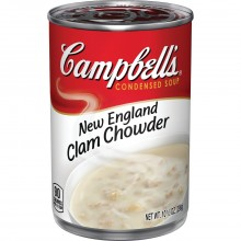 CAMPBELLS NEW ENG CLAM CHOWDER 10.75oz
