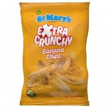 ST MARYS BANANA CHIPS EX CRUNCHY 142g