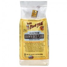 BOBS RED MILL FLOUR BROWN RICE 24oz