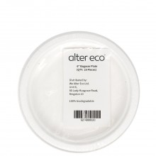 ALTER ECO BAGASSE PLATE 6in 25ct