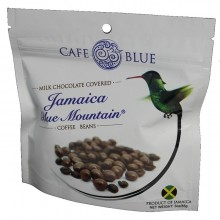 CAFE BLUE CHOC COVERED COFFEE BEANS 3oz