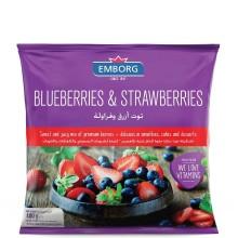 EMBORG BLUEBERRIES & STRAWBERRIES 400g