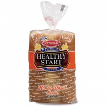 NATIONAL BREAD HS HONEY WHEAT 20oz