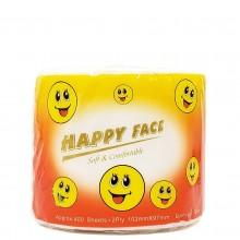 HAPPY FACE BATHROOM TISSUE 500s