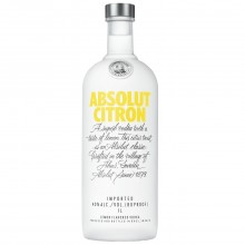ABSOLUT VODKA CITRON 1L