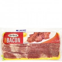 GRACE STREAKY BACON 225g