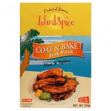 ISLAND SPICE COAT & BAKE JERK PORK 8oz