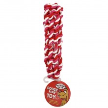 BOW-WOW VALUE DOG ROPE TWIST 1ct
