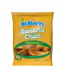 ST MARYS BANANA CHIPS 30g
