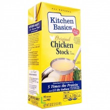 KITCHEN BASIC CHICKEN STOCK ORIG 32oz